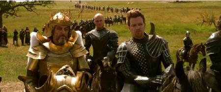 Ian McShane and Ewan McGregor from the Warner Bros. Pictures film Jack the Giant Slayer