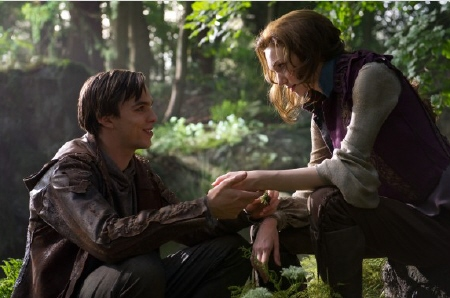 Nicholas Hoult and Eleanor Tomlinson from the Warner Bros. Pictures film Jack the Giant Slayer