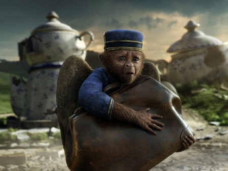 Finley the monkey from the Disney film Oz the Great and Powerful