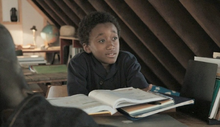 Travaris Spears as Nelson in the Focus Features film Admission