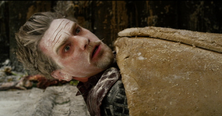 Ewan McGregor in a pastry from the Warner Bros. Pictures film Jack the Giant Slayer
