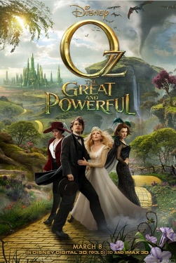 poster from the Disney film Oz the Great and Powerful