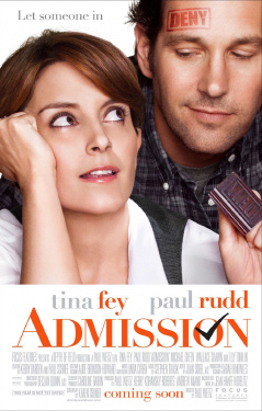 poster for the Focus Features film Admission