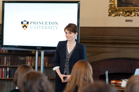 Tina Fey as a Princeton admissions officer in the Focus Features film Admission