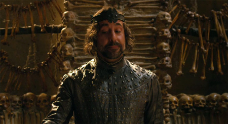 Stanley Tucci as Roderick from the Warner Bros. Pictures film Jack the Giant Slayer