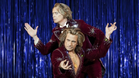 Steve Buscemi and Steve Carrell in the Warner Bros. Pictures film The Incredible Burt Wonderstone