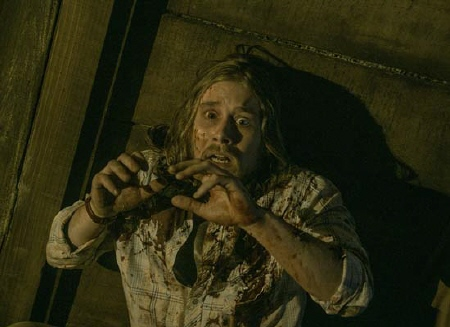 Lou Taylor Pucci from the Sony Pictures film Evil Dead 2013