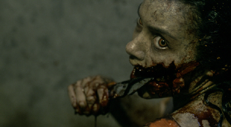 Jessica Lucas from the Sony Pictures film Evil Dead 2013