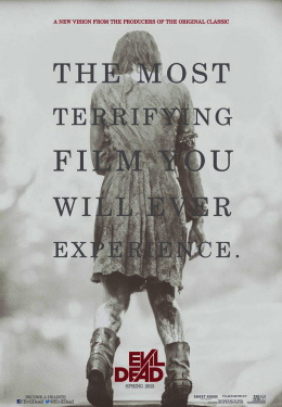 poster from the Sony Pictures film Evil Dead 2013