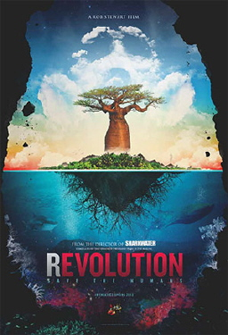 poster from the Rob Stewart documentary Revolution