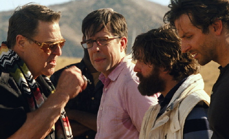 Marshall threatens the wolfpack from the Legendary Pictures film The Hangover Part 3