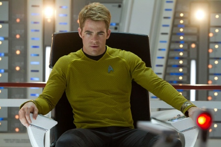 Captain Kirk from the Paramount Pictures film Star Trek Into Darkness