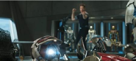 Mark 42 Suit from the Marvel Studios film Iron Man 3