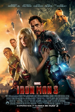 poster from the Marvel Studios film Iron Man 3