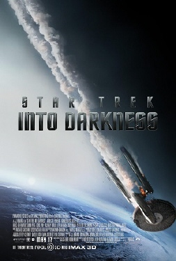 poster from the Paramount Pictures film Star Trek Into Darkness