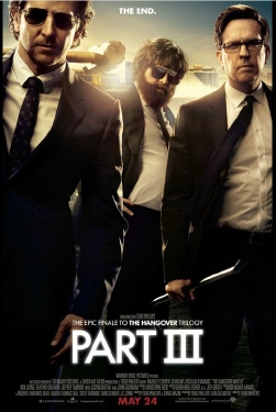 poster from the Legendary Pictures film The Hangover Part 3