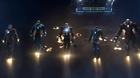 Party Suits from the Marvel Studios film Iron Man 3