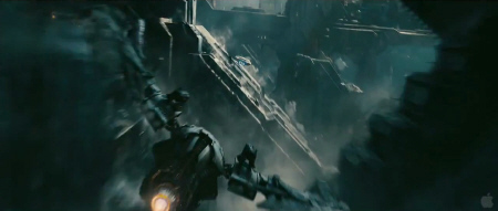 Sneaking around on a Klingon planet from the Paramount Pictures film Star Trek Into Darkness