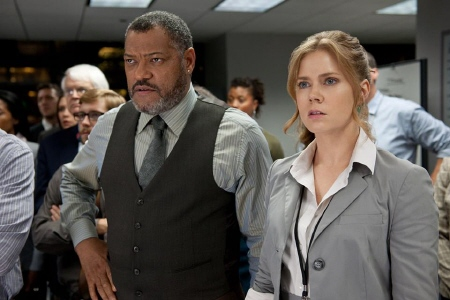 Perry White and Lois Lane in the Warner Bros. film Man of Steel 2013