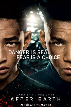poster from the Columbia Pictures film After Earth