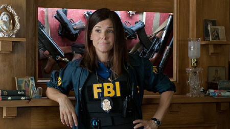 Ashburn finds hidden guns from the Twentieth Century Fox film The Heat 2013