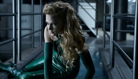 Viper in a catsuit from the Marvel Entertainment film The Wolverine