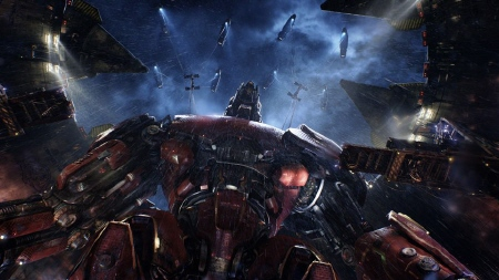 Crimson Typhoon from the Warner Bros. Pictures film Pacific Rim