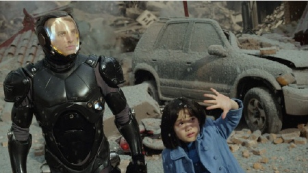 Raleigh and Mako in her memory from the Warner Bros. Pictures film Pacific Rim