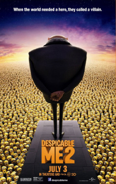 poster from the Universal Pictures film Despicable Me 2