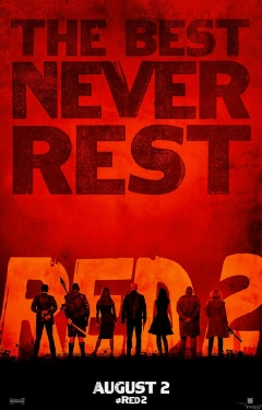 poster from the Summit Entertainment film RED 2