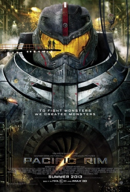 poster from the Warner Bros. Pictures film Pacific Rim