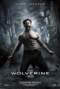 poster from the Marvel Entertainment film The Wolverine