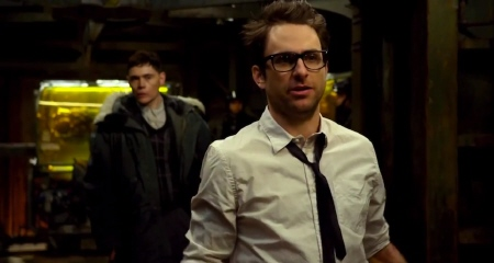 Charlie Day and Burn Gorman from the Warner Bros. Pictures film Pacific Rim