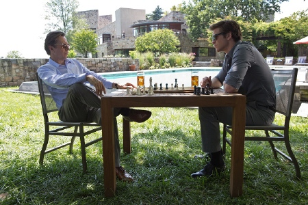 Wyatt and Adam play chess from the Relativity Media film Paranoia