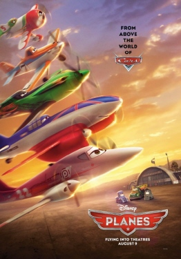 poster from the Walt Disney Pictures film Planes