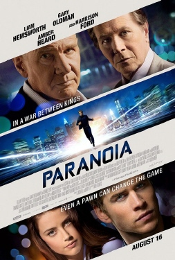 poster from the Relativity Media film Paranoia