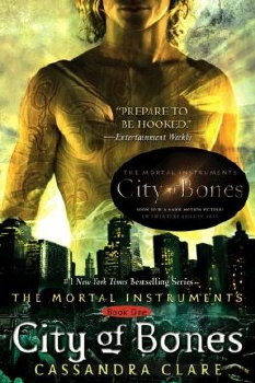 cover from the book Mortal Instruments City of Bones