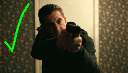 Jake Gyllenhaal from the Warner Bros. Pictures film Prisoners