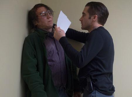 Loki interrogates Alex from the Warner Bros. Pictures film Prisoners