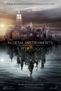 poster from the Sony Pictures film Mortal Instruments City of Bones