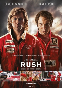 poster from the Imagine Entertainment film Rush