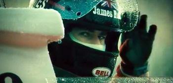 James Hunt gives Niki Lauda respect from the Imagine Entertainment film Rush