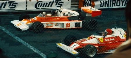MacLaren vs Ferrari from the Imagine Entertainment film Rush
