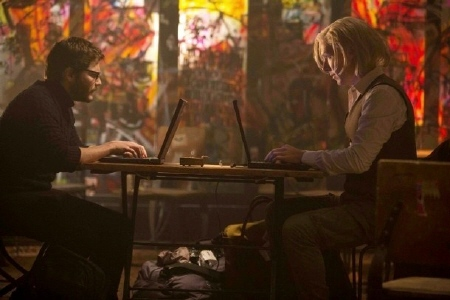 Daniel and Julian chat online from the Walt Disney Pictures film The Fifth Estate