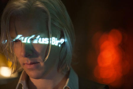 Julian Assange from the Walt Disney Pictures film The Fifth Estate