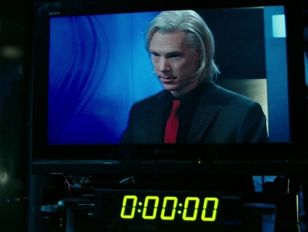 Benedict Cumberbatch as Julian Assange from the Walt Disney Pictures film The Fifth Estate
