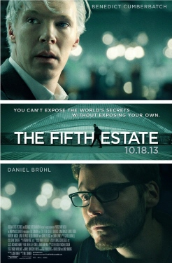 poster from the Walt Disney Pictures film The Fifth Estate