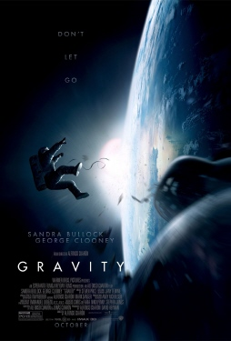 poster from the Warner Bros. Pictures film Gravity