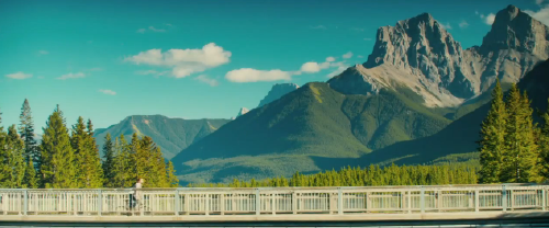 Banff scenery from the Serendipity Point Films movie The Right Kind of Wrong