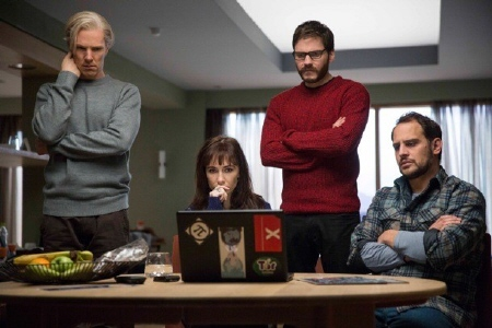 Wiki Leakers wait for the hammer to fall from the Walt Disney Pictures film The Fifth Estate